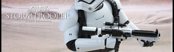 Hot Toys : Stormtrooper First order (Jakku Exclusive)