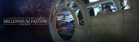 Hottoys : Millenium Falcon Cockpit Display