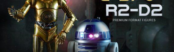 Sideshow Collectibles : R2-D2 & C-3PO Premium Format