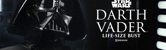 Sideshow Collectibles – Darth Vader Life Size Buste V2