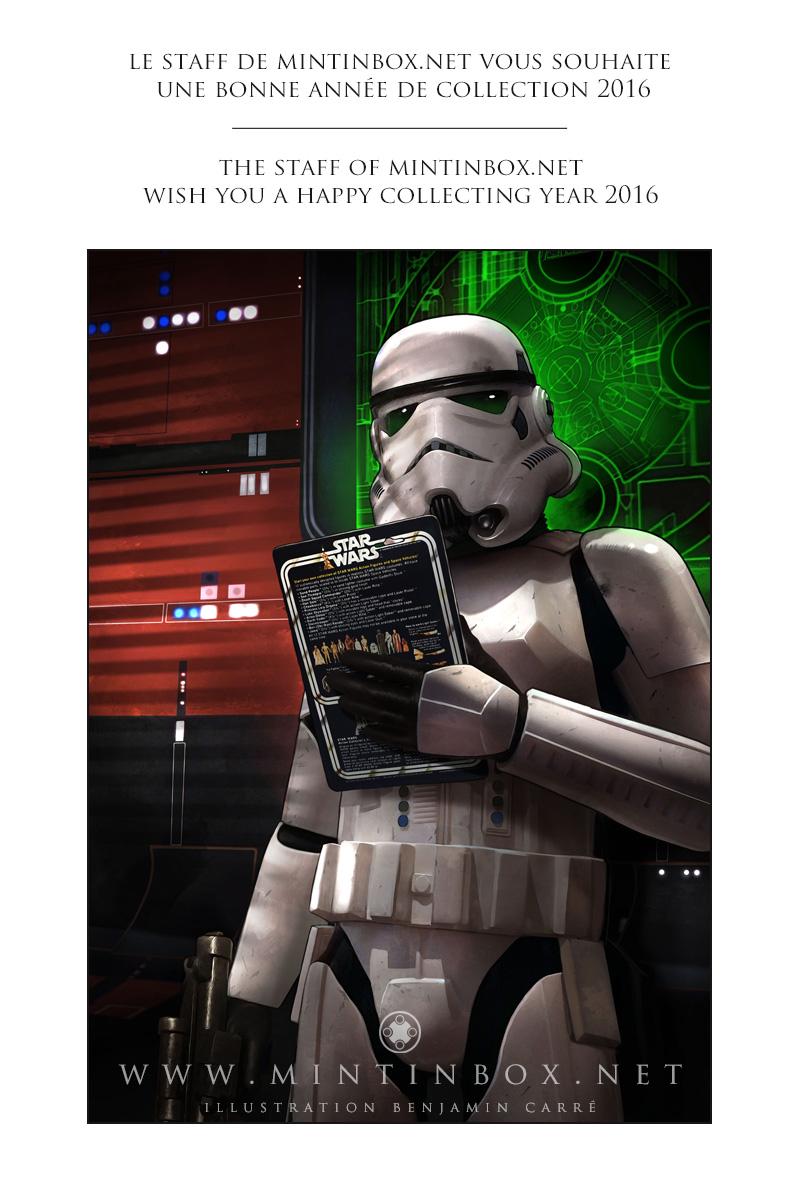 Benjamin Carré Stormtrooper Mintinbox