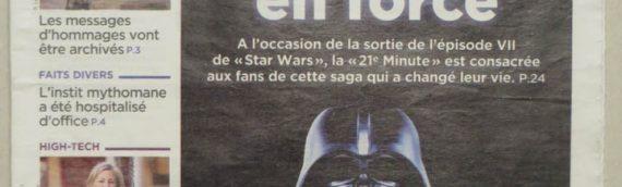 La revue de presse Star Wars : Les quotidiens du 16 décembre