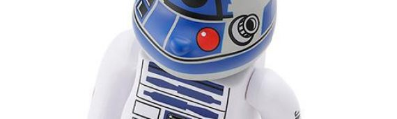 MEDICOM TOYS : 100% & 400% BEARBRICK R2-D2 (ANA JET)