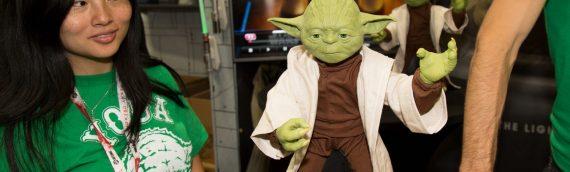 San Diego Comic-Con 2015 : Spin Master Star Wars Legendary Yoda