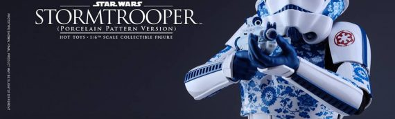 Hot Toys – Stormtrooper Porcelain Pattern Version