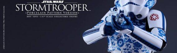 Hot Toys – Stormtrooper Porcelain Pattern Version