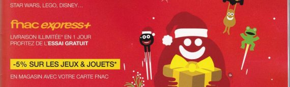Catalogues de Noël 2015 – FNAC Kids