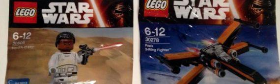 LEGO – Deux nouveaux polybags The Force Awakens