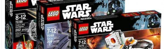 LEGO Star Wars : Les nouveautés de début 2017