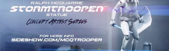 Sideshow Collectibles : Ralph McQuarrie Stromtrooper Statue
