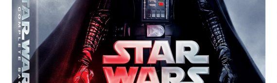 Le retour de la Saga Star Wars en Blu-ray