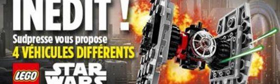 LEGO – 4 Polybags en Belgique