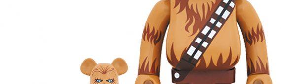 Medicom : BearBrick Chewbacca