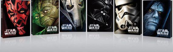 Star Wars Blu Ray SteelBooks