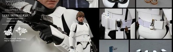 Hottoys – Luke Skywalker in Stormtrooper