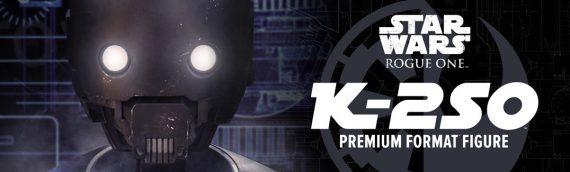 Sideshow Collectibles : K-2SO Premium Format en teaser video