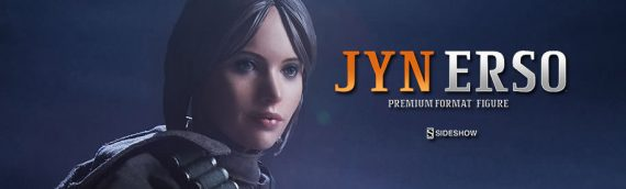 Sideshow Collectibles – Jyn Erso Premium Format Opening Box
