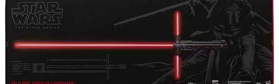 Bon plan : le sabre FX de Kylo Ren en promo chez Toys R Us