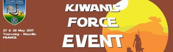 Kiwanis Force Event 2017 : Leia sera là !