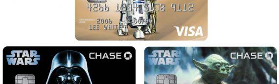 Le retour des cartes bleu VISA Star Wars