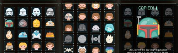 Les icônes Star Wars débarquent sur le clavier Emojis