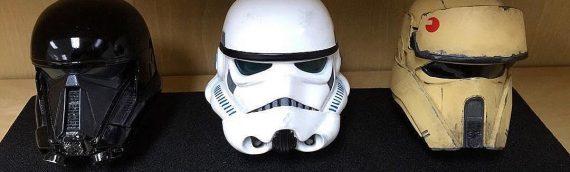 Star Wars Rogue One : De nouveaux casques