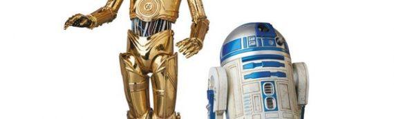 Medicom : Mafex C-3PO & R2-D2