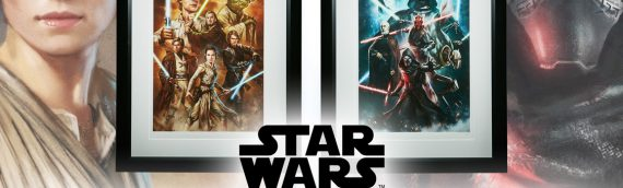Sideshow Collectibles – Force of Darkness and Hope Art Prints