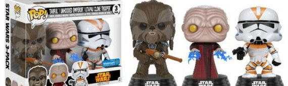 Funko POP – Exclusive Star Wars Revenge of the Sith POP 3-Pack