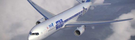 La compagnie aérienne ANA présente sa flotte Star Wars
