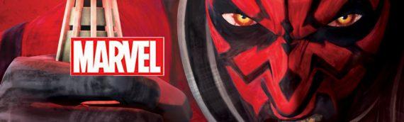 """Marvel – Les couvertures de """"Star Wars – Darth Maul"""""""
