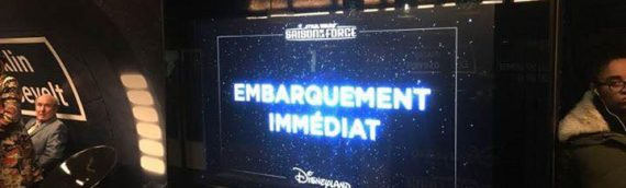 Disney : Season of the Force s'invite dans le métro parisien