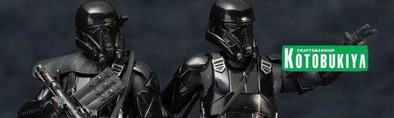 Kotobukiya – Rogue One Death Trooper Two Pack ARTFX+
