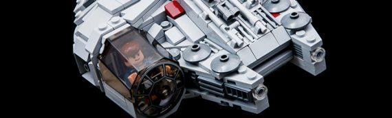 LEGO : un Faucon Millenium fan made pour petits espaces