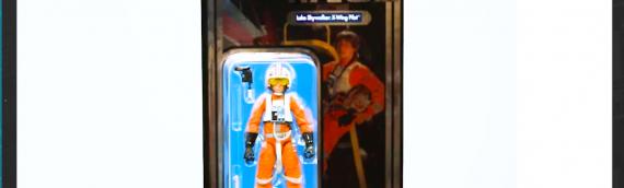 Star Wars Celebration Orlando 2017 – Hasbro Luke Skywalker The Black Series Vintage Card Exclusive