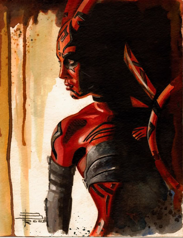 Brian Rood Darth Talon art
