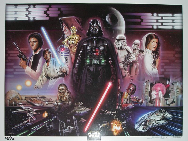 Brian Rood art of star wars