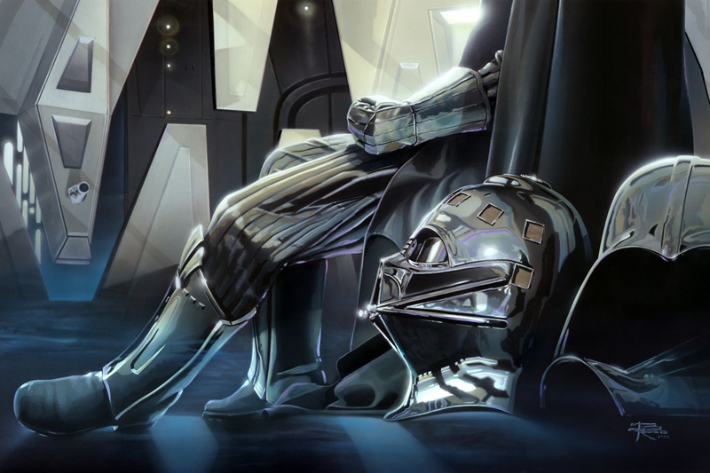 Brian Rood art of Star Wars Darth Vader