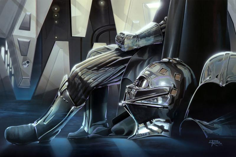 Brian Rood art of Star Wars Darth Vader