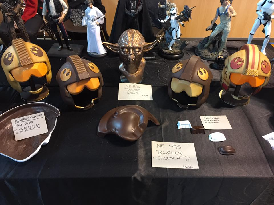 star wars casques rebelles chocolat