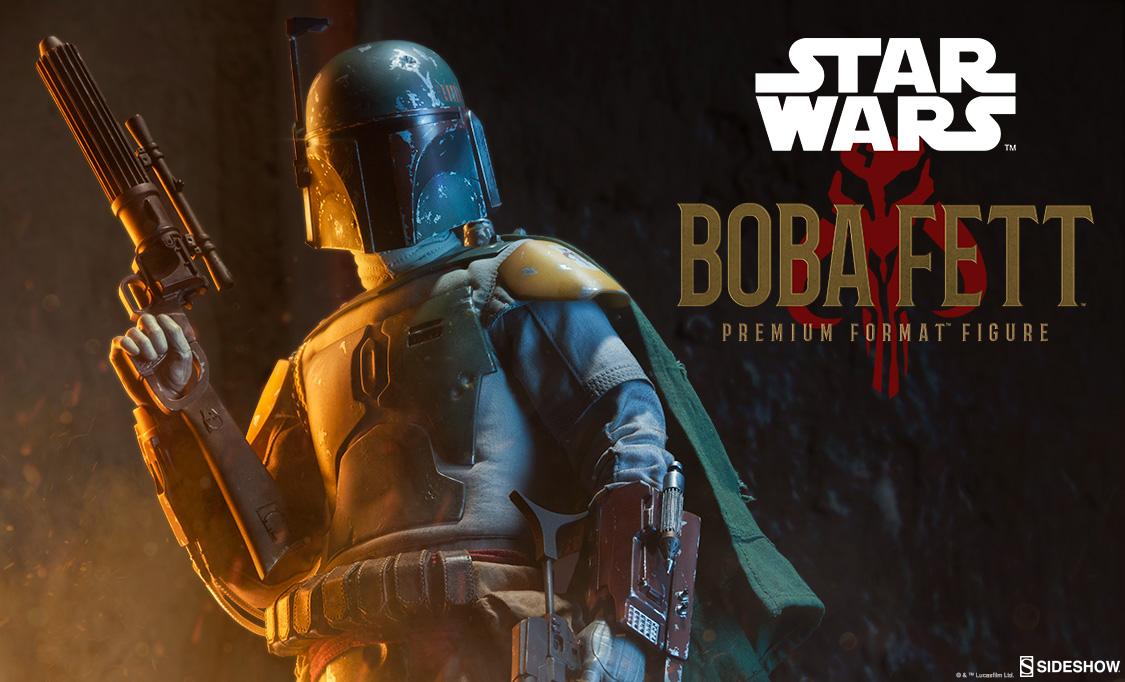 Sideshow Collectibles Boba Fett Premium Format
