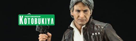 Kotobukiya – Han Solo & Chewbacca The Force Awakens ArtFX
