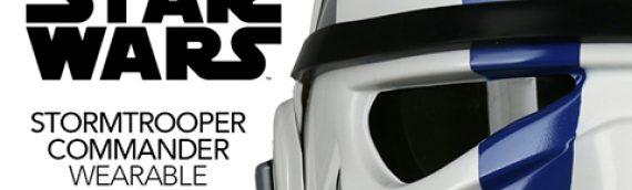 Anovos – Stormtrooper Commander Helmet Exclusive