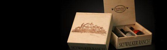 """Skywalker Ranch – Nouveau coffret de Bouteilles de vin """"Skywalker Vineyards"""""""