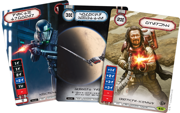 Star Wars Destiny Spirit of the Rebellion.