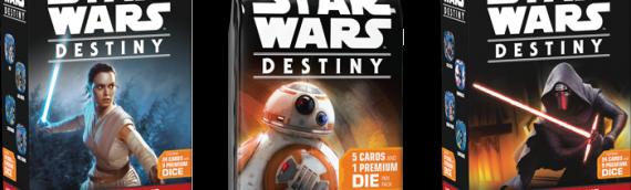 Fantasy Flight Games : la politique de publication des cartes Star Wars Destiny dévoilée