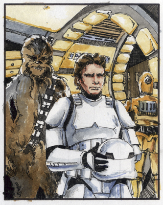 Art of Star Wars Doug Cowan