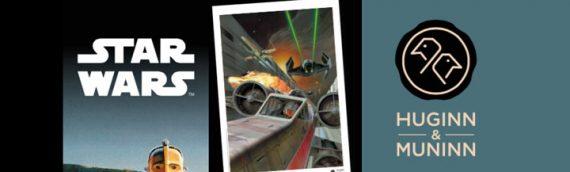 Huginn & Muninn fêtent les 40ans de Star Wars!