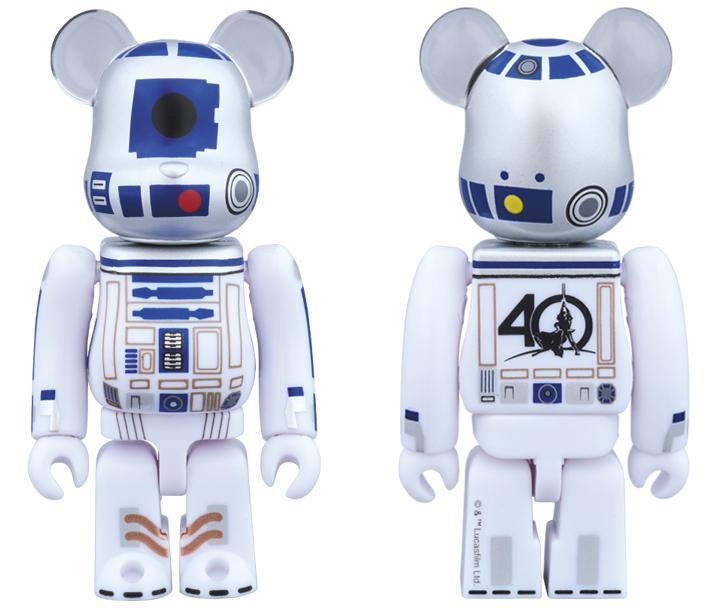 bearbiricks R2D2 40th Anniversary