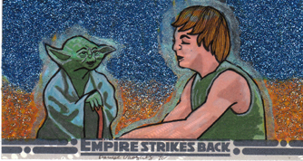 art of star wars denise vasquez yoda